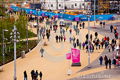 London prepares: Olympic test events Editorial Photo