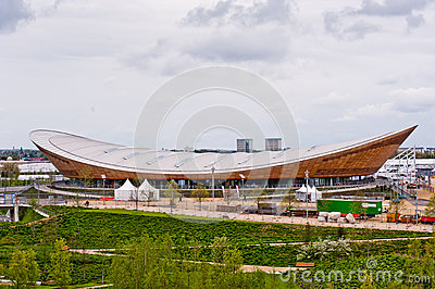 London prepares: Olympic test events Editorial Stock Image