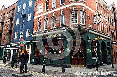 London pub Editorial Photo