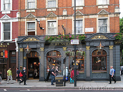 London Pub Editorial Photography