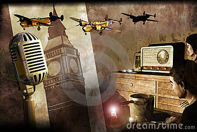 London radio in World war II