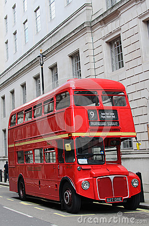 London red bus Editorial Photography