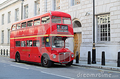 London red bus Editorial Photo
