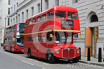 London red buses Editorial Image