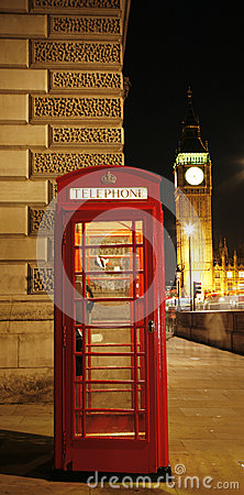 Free London Red Phone Booth Royalty Free Stock Photography - 32342487