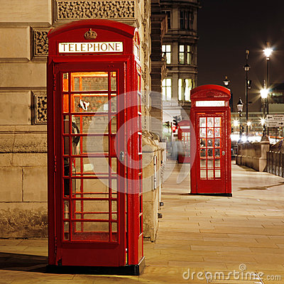 Free London Red Phone Booth Stock Photo - 32342540