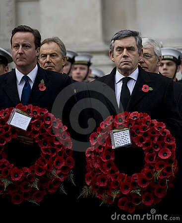 London - Rememberance Parade Editorial Photography