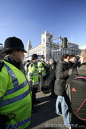 London riots Editorial Stock Image
