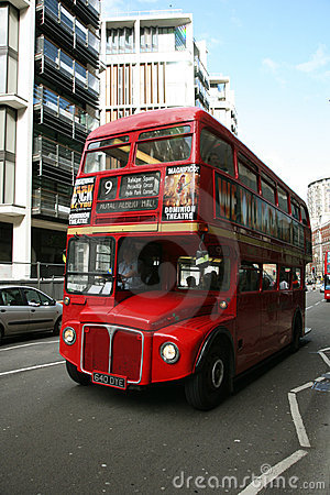 London Route Master Bus Editorial Image