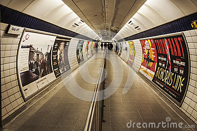 London rör Redaktionell Foto