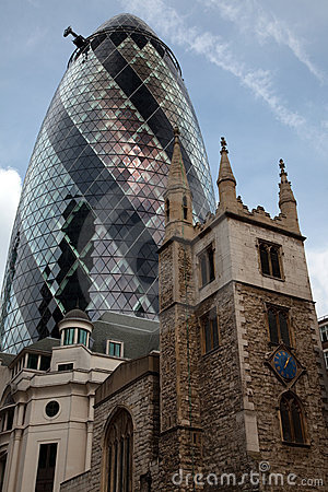 London s  Gherkin  Building