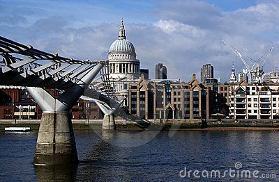 London saint pauls cathedral Editorial Image