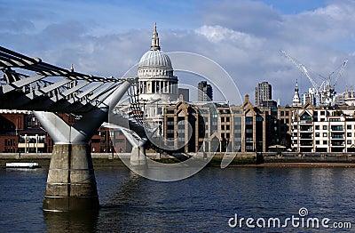 London saint pauls cathedral Editorial Image