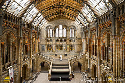 LONDON-September 17:Natural History Museum Editorial Photography