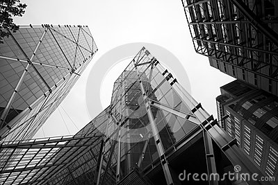 LONDON - SEPTEMBER 21: The Broadgate Tower Editorial Stock Photo