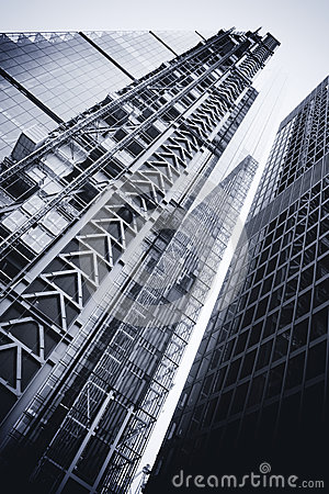 LONDON - SEPTEMBER 21: Leadenhall Building in construction Editorial Photography