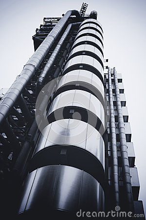 LONDON - SEPTEMBER 21: The Lloyds building Editorial Photography