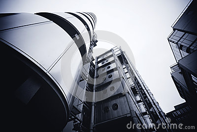 LONDON - SEPTEMBER 21: The Lloyds building Editorial Stock Image