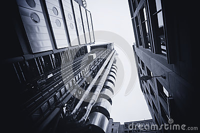 LONDON - SEPTEMBER 21: The Lloyds building Editorial Image