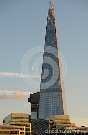 The London Shard Editorial Image