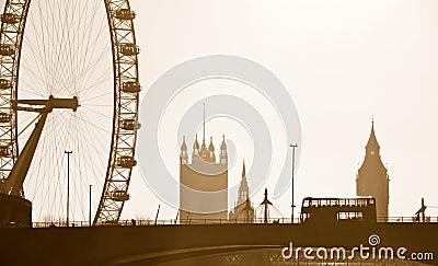 London Skyline Editorial Photography