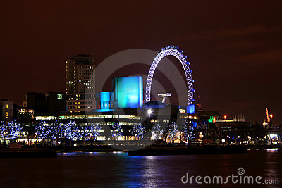 London Skyline Editorial Stock Image
