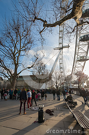 London South Bank Editorial Photography