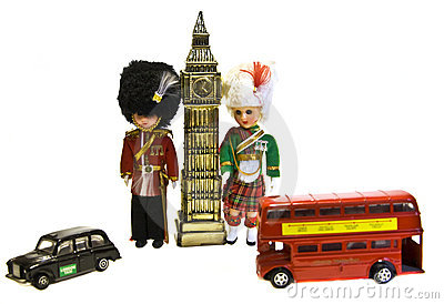 London Souvenir Arkivbild - Bild: 18274282