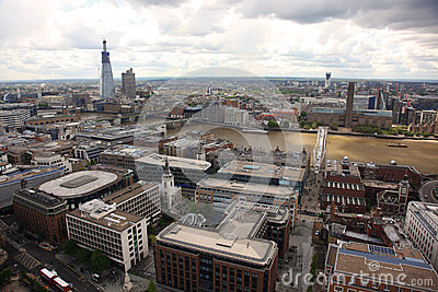 London from St Paul s Cathedral