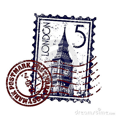 Free London Stamp Or Postmark Style Grunge Stock Photo - 11487470