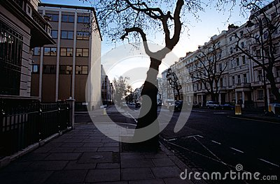 A London street Editorial Stock Photo