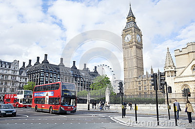 London Street Scene Editorial Image
