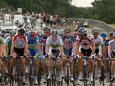 London Surrey Classic Cycle Race Editorial Photo