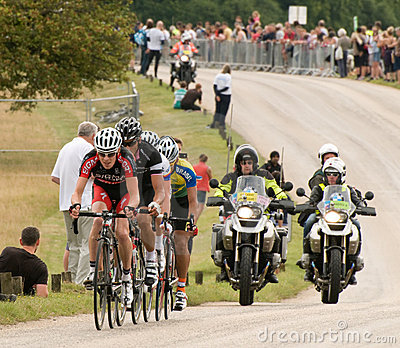 London Surrey Classic Cycle Race Editorial Image