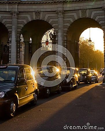 London taksówki
