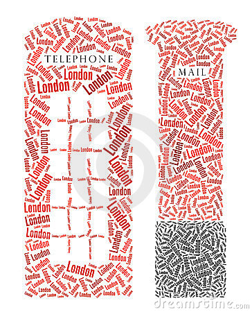 London Telephone Booth and Post Box