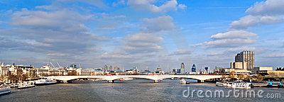 London And Thames Royalty Free Stock Photography - Image: 13574687