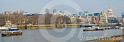 London Thames Editorial Image