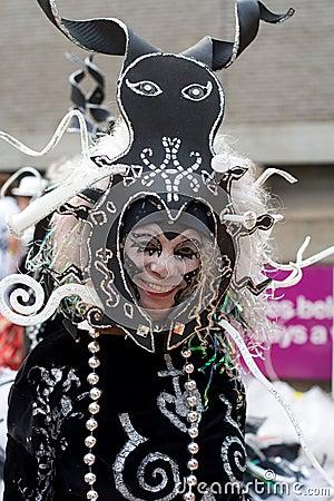 London Thames Festival Night Carnival Editorial Photo