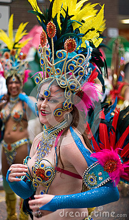 London Thames Festival Night Carnival Editorial Photography