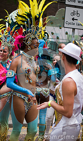 London Thames Festival Night Carnival Editorial Stock Image