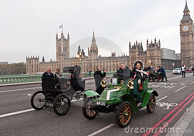 London to Brighton Car Run Editorial Stock Image