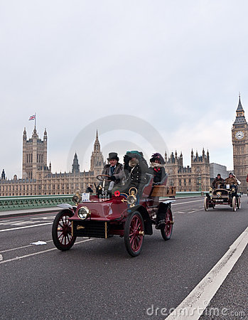 London to Brighton Car Run Editorial Photography