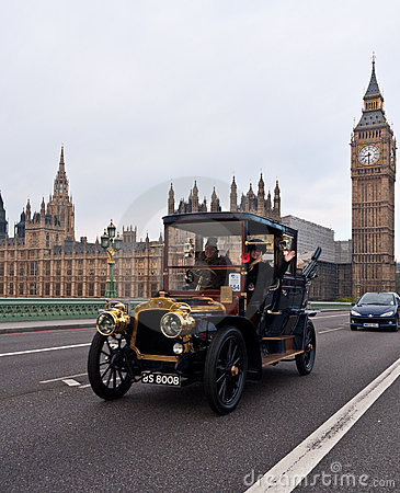 London to Brighton Car Run Editorial Stock Photo