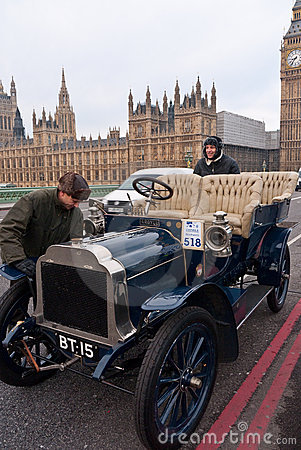 London to Brighton Car Run Editorial Image