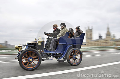 London to Brighton Veteran Car Run 2011 Editorial Image
