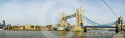 London Tower Bridge Editorial Photo