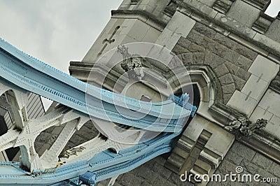 London Tower Bridge artistic angle
