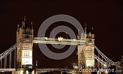 London Tower at Night