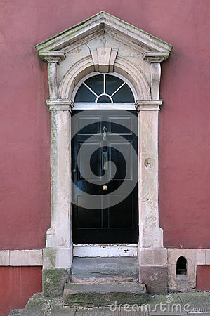 Free London Town House Front Door Royalty Free Stock Photos - 25220218